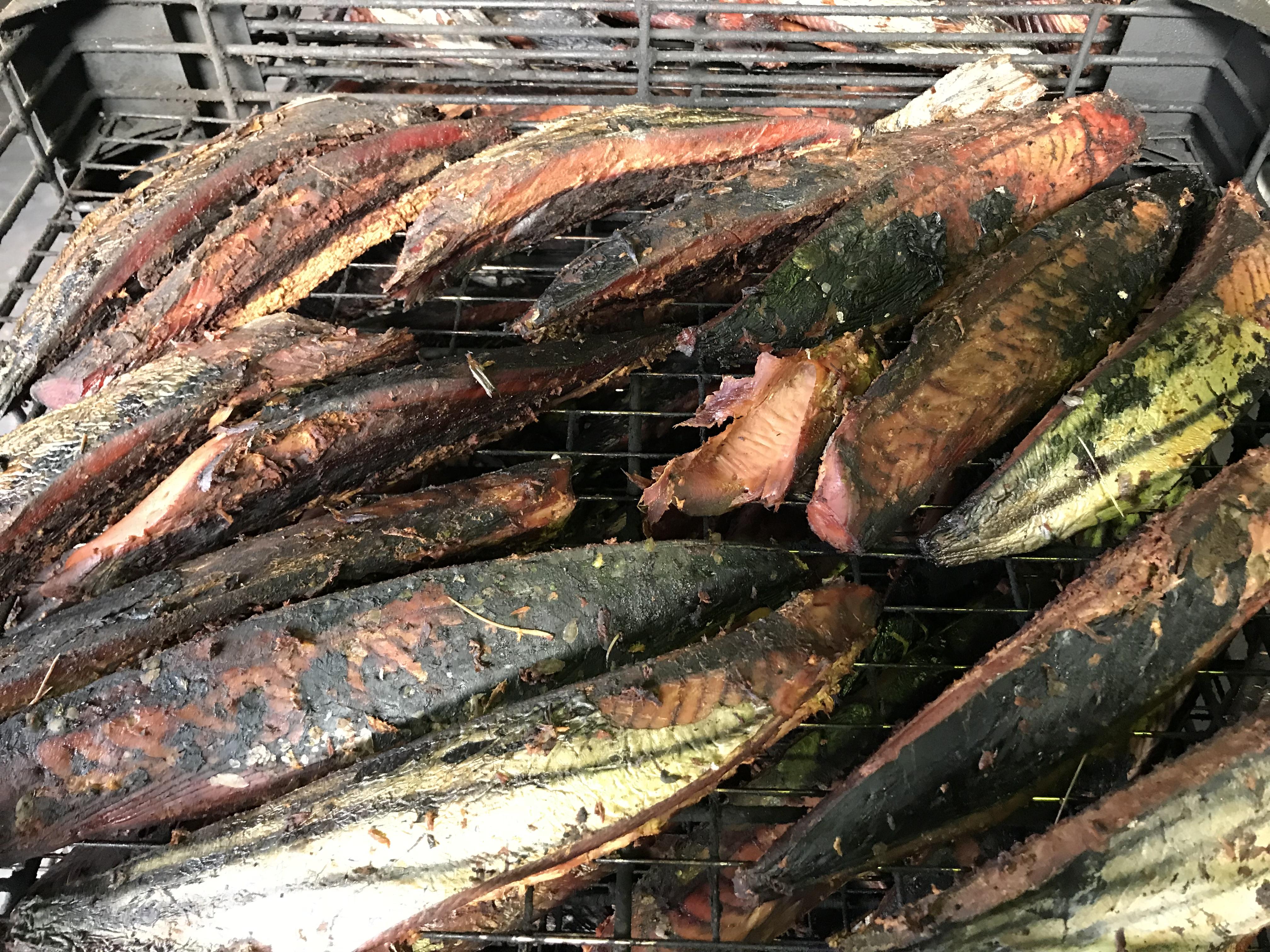 鰹の肉質のみの部分