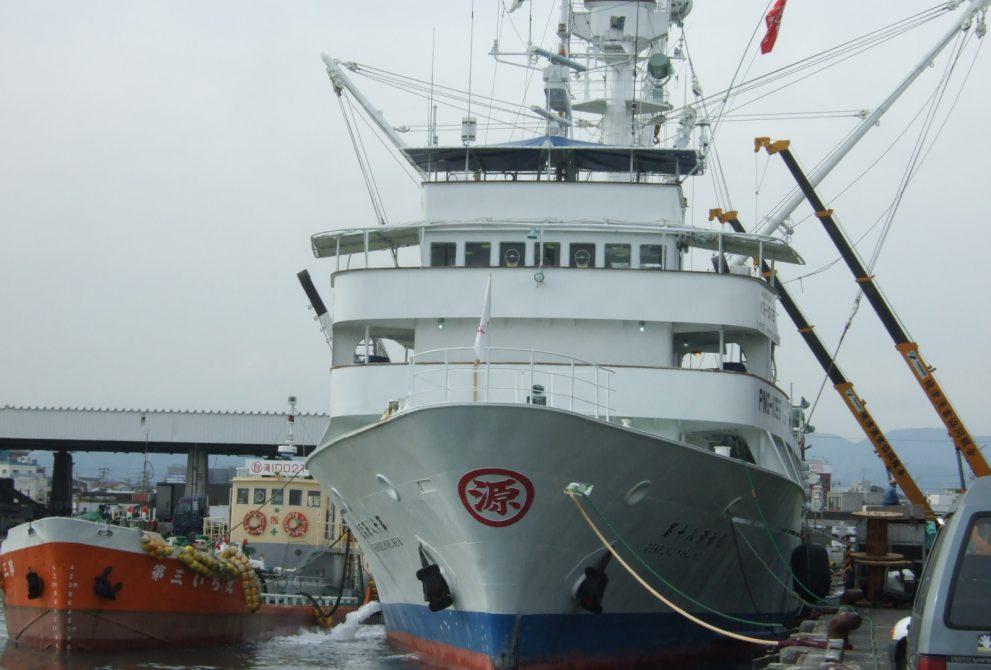 最新鋭の日本の旋網船