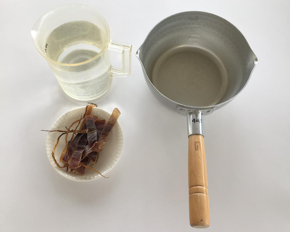 スルメの出汁-準備するもの