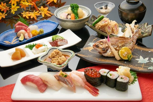 和食-季節の飾りつけ